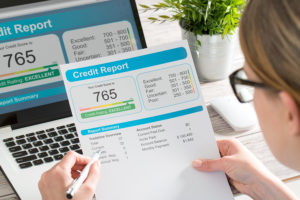 Analysis of credit report